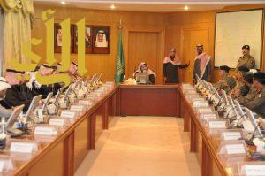 وكيل إمارة منطقة الجوف يترأس الإجتماع الثاني للأجهزة الحكومية
