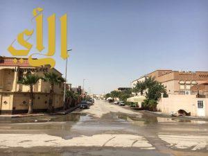 أمانة الشرقية : مواصلة العمل للانتهاء بشكل كامل وبدء أعمال التنظيف بكافة أحياء وطرق وميادين الحاضرة