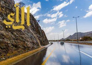 أمطار متوسطة على منطقة الباحة