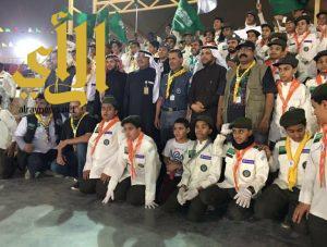 """نائب رئيس جمعية الكشافة يزور القطاعات الكشفية في مهرجان """"الجنادرية 31"""""""