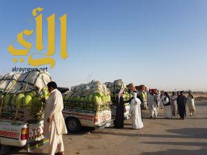 400 مركبة من الحبحب يومياً في سوق وادي الدواسر