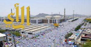 الإحصاء : إجمالي عدد الحجاج لموسم حج 1438هـ ( 2,352,122 ) حاجاً