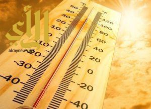 طقس شديد الحرارة على شرق وشمال شرق المملكة
