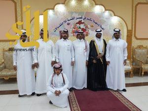 آل قريع يحتفلون بزواج أحمد
