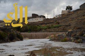هطول أمطار رعدية على معظم مناطق المملكة