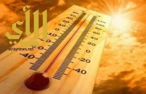 الطقس شديد الحرارة على شمال شرق وشرق المملكة