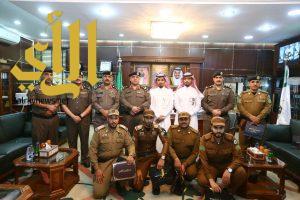 مدير شرطة الجوف يستقبل مدير عام فرع وزارة العمل والشؤون الاجتماعية بالمنطقة