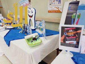أكثر من 200 مستفيد من فعاليات صحة الفم والأسنان بالفرشة