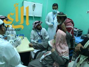 فحص 700 مراجع بقافلة صحية في الفرشة