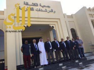رواد الكشافة السعودية يتجولون في دولة قطر