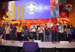 مقعدين للكشافة العربية في اللجنة الكشفية العالمية الجديدة