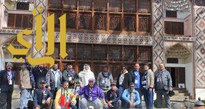 رواد كشافة المملكة يتعرفون على التراث الاذربيجاني