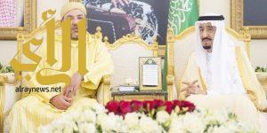 خادم الحرمين الشريفين يشكر ملك المغرب