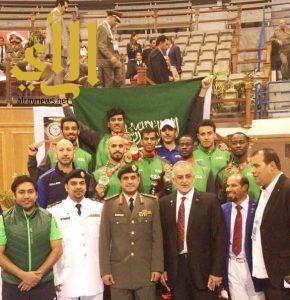 المنتخب السعودي العسكري للتايكوندو يحقق المركز الثاني