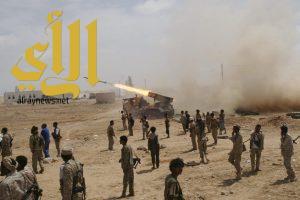الجيش اليمني يواصل تقدمه في شمال صعده ويستعيد مواقع في منطقة كتاف