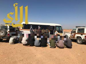 شرطة منطقة الجوف تنفذ حملة أمنية بميقوع وبسيطا