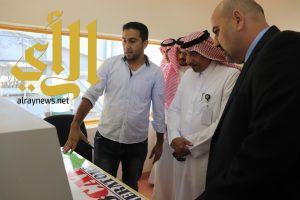 أمين عسير يفتتح مشروع التخلص الآمن من النفايات ببلدية بللحمر