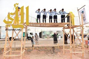 مشاركات متنوعة للكشافة بجناح وزارة التعليم في الجنادرية32