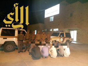 شرطة الجوف تواصل حملات وطن بلا مخالف وتوطين الانشطة المقصورة على المواطنين