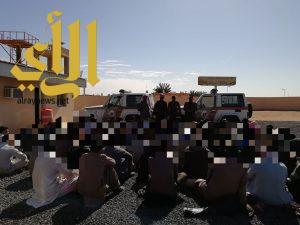 شرطة الجوف تواصل حملاتها بمشاريع بسيطا وميقوع