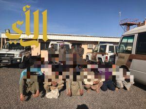 شرطة منطقة الجوف تواصل حملاتها بميقوع وبسيطا