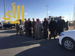 شرطة منطقة الجوف تواصل حملاتها بمدينة سكاكا