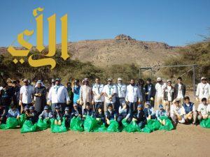 200 كشاف في مشروع حماية البيئة بتعليم أحد رفيدة