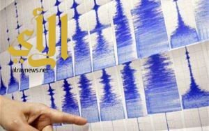 """زلزال بقوة 4.6 درجات يضرب ولاية """" جناق قلعة """" التركية"""