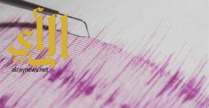زلزال بقوة 4.2 درجة يضرب بحر ايجه قبالة سواحل تركيا