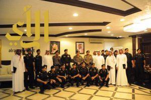 قحاط يكرم عدداً من ضباط وأفراد شرطة محافظة دومة الجندل