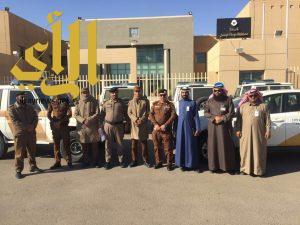شرطة محافظة دومة الجندل تنفذ حملة تفتيش بقرية الاضارع وضواحيها