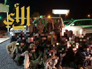 شرطة منطقة الجوف تواصل حملاتها بمشاريع ميقوع وبسيطا