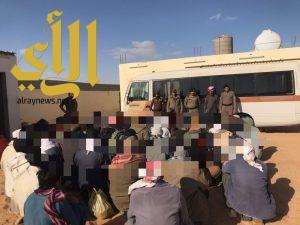 شرطة محافظة طبرجل تنفذ حملة أمنية ( وطن بلا مخالف )