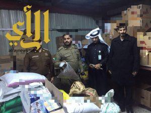حملة أمنية بحي المحمدية بمدينة سكاكا نفذت مساء يوم الاربعاء