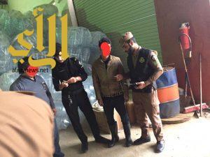 ضبط مجموعة من المخالفين بحملة نفذتها شرطة منطقة الجوف