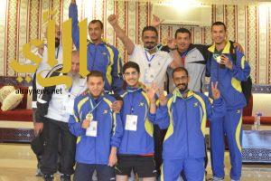 تتويج لواء الملك سعود بطلا لطاولة بطولة شهداء الواجب