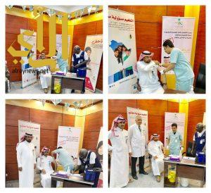 صحة عسير تطلق حملة التطعيم ضد الانفلونزا الموسمية في محافظات ومراكز المنطقة