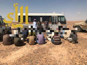 حملات أمنية بالجوف شملت محافظة القريات وطبرجل ودومة الجندل