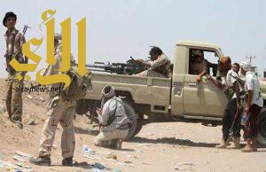 الجيش اليمني يسيطر على جبال كهبوب ويقترب من تأمين باب المندب