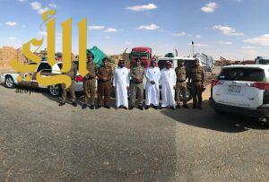شرطة منطقة الجوف تواصل حملاتها لتعقب وضبط مخالفي أنظمة العمل والإقامة وأمن الحدود