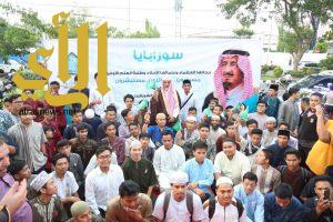 مدير جامعة الإمام يفتتح فرع معهد العلوم الإسلامية والعربية في سورابايا الإندونيسية