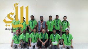 33 كشافاً وجوالاً من معهد العاصمة في خدمة الحجاج