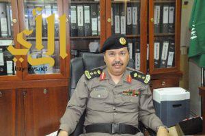 تكليف العقيد / مناحي مساعدا لمدير شرطة منطقة الجوف للامداد والتموين