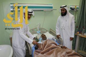 فريق نماء التطوعي يزور المرضى في مستشفى وادي الدواسر العام