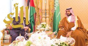 سمو ولي العهد يتلقى اتصالاً هاتفياً من الرئيس الفلسطيني