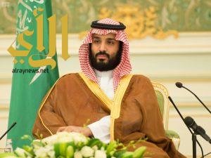 سمو ولي ولي العهد يلتقي عدداً من كبار مشايخ القبائل اليمنية