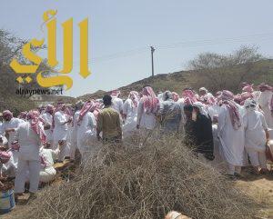 ال عريعر يشيعون زوجة الشيخ مسفر ابوحابس شيخ قبائل ال حيان ووادعة في ظهران الجنوب