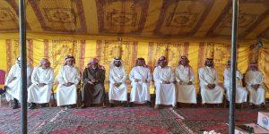 رئيس بلدية خميس مشيط يقدم العزاء لأسرة ال عريعر