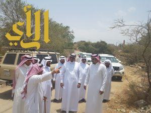 رئيس بلدية المجاردة والمجلس البلدي يقومان بجولة تفقدية لـ مركز عبس