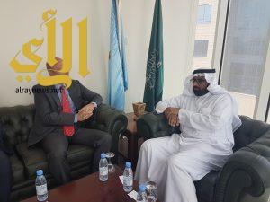 الجمعية الوطنية لحقوق الإنسان تستقبل السفير السويدي لدى المملكة